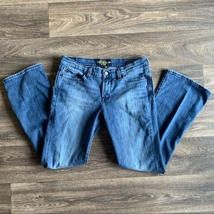 LUCKY BRAND LESLIE SWEET N LOW Bootcut Jeans 10/30